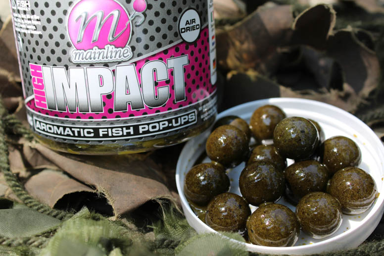 Mainline Aromatic Fish. A superb bait and a great colour for silt fishing.
